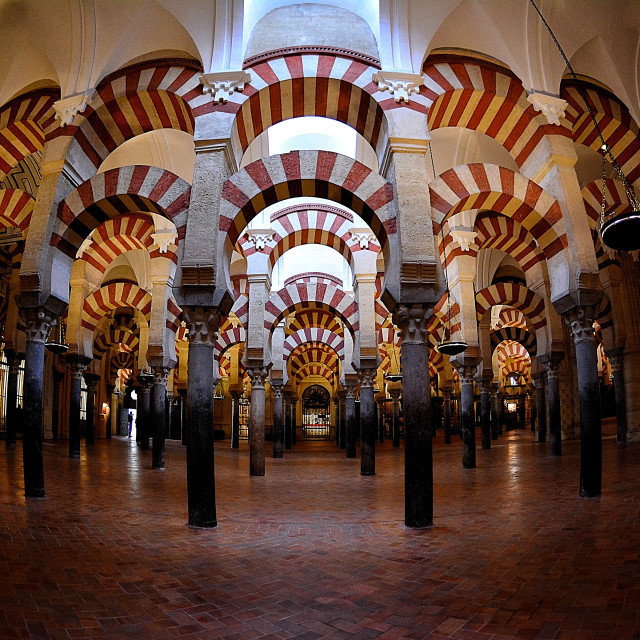 """Mosque–Cathedral of Córdoba"" stock image"
