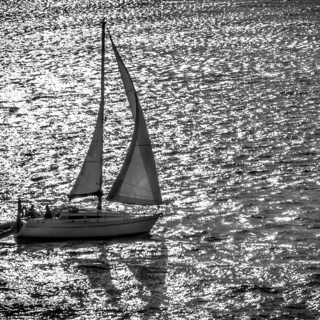 """Sailing home"" stock image"