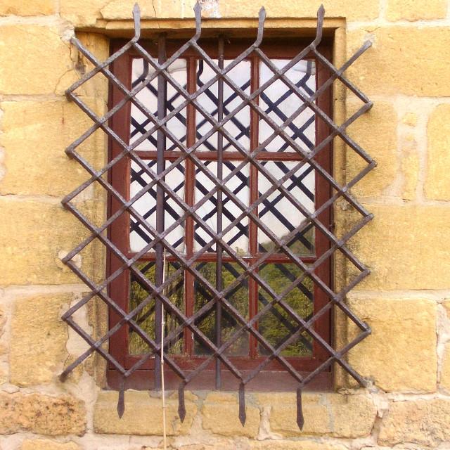 """Medieval Mullioned Window"" stock image"