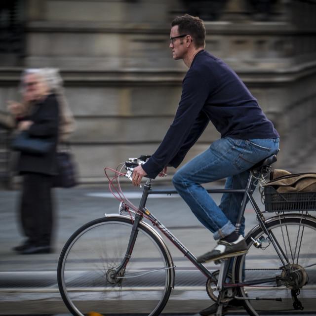 """Streets of Barcelona"" stock image"