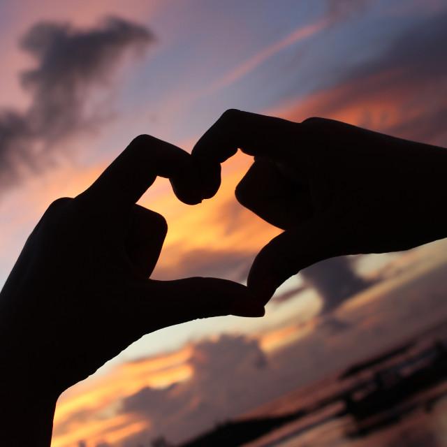 """Love Bali"" stock image"