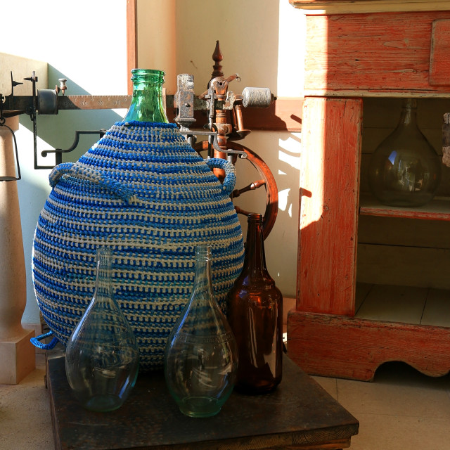 """""""Bottles vintage"""" stock image"""