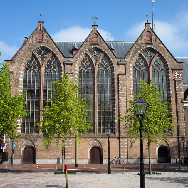 """Kloosterkerk in The Hague"" stock image"