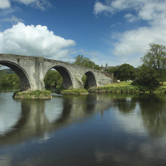 """Stirling Bridge"" stock image"