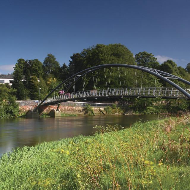 """Kirkpatrick MacMillan Bridge"" stock image"