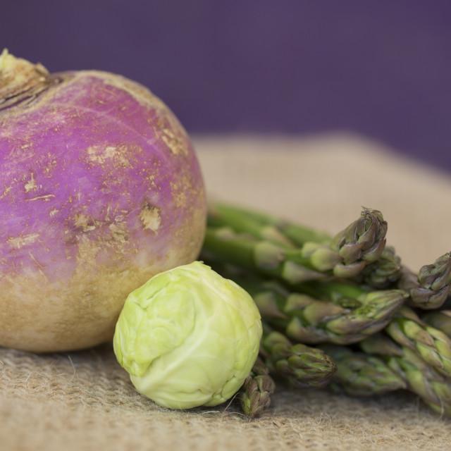 """Fresh raw vegetables"" stock image"