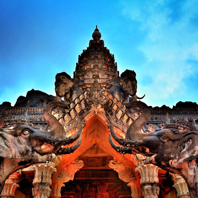"""""""Elephant palace"""" stock image"""