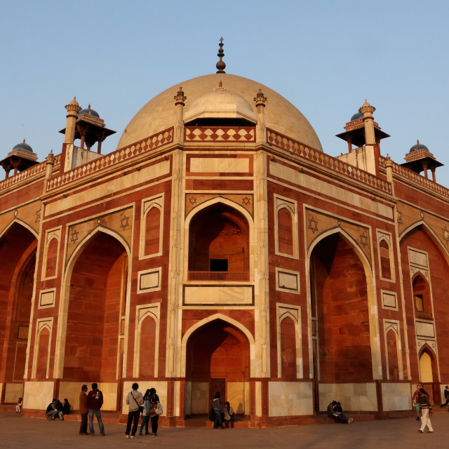 """HUMAYUN'S TOMB, NEW DELHI, INDIA"" stock image"