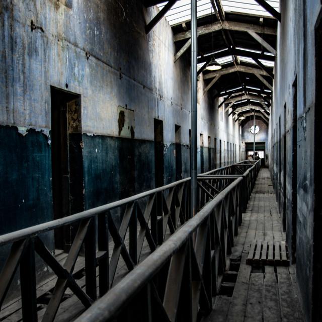 """""""Ushuaia Jail"""" stock image"""