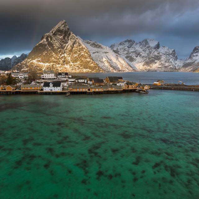 """""""Sakrisøy"""" stock image"""