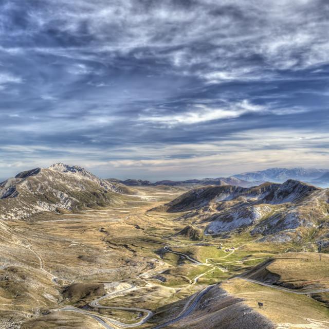 """""""Campo Imperatore Abruzzo Italy"""" stock image"""