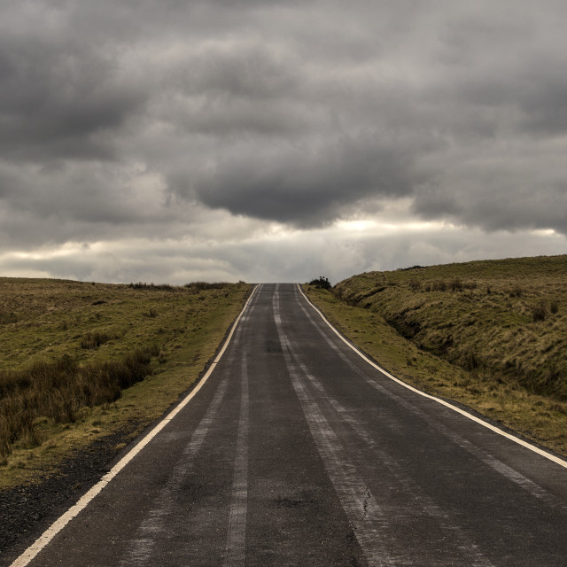 """Empty Road"" stock image"