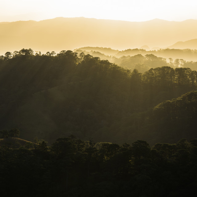 """""""Panoramic Beaming light in Ta Nang - Viet Nam"""" stock image"""