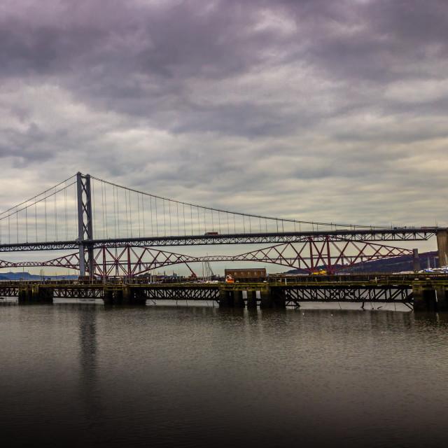"""""""The Bridges"""" stock image"""