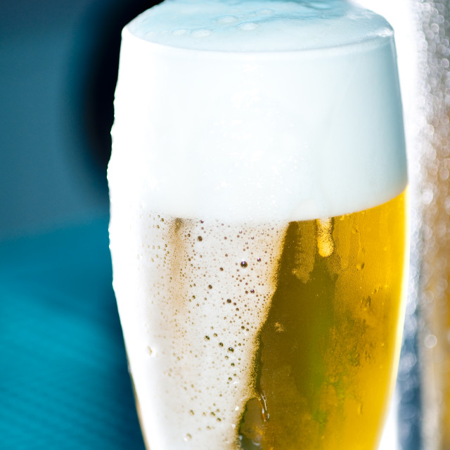 """A draught of beer"" stock image"