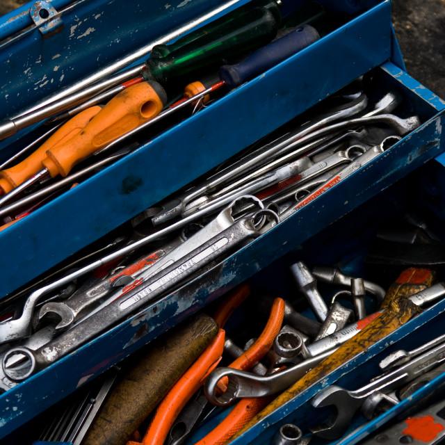 """Work tools"" stock image"