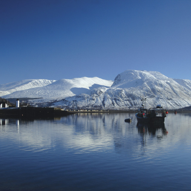 """""""Ben Nevis and Loch Linnhe"""" stock image"""
