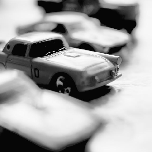 """Little cars"" stock image"