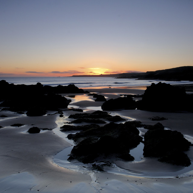 """Coldingham Sands"" stock image"