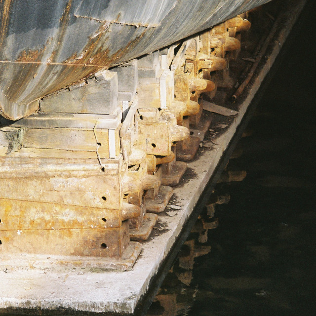 """Dry dock"" stock image"