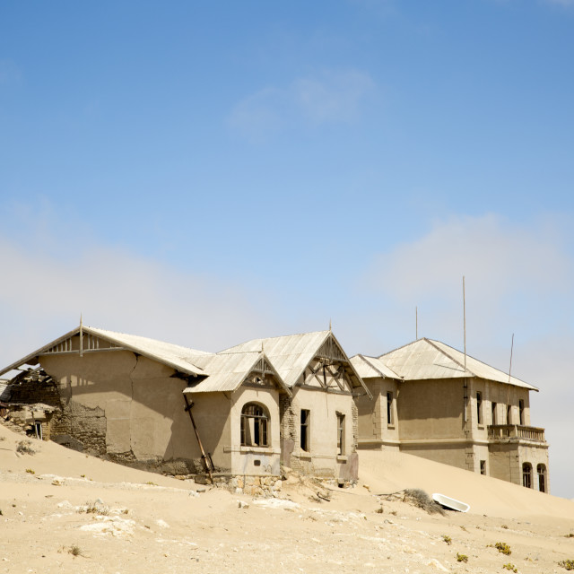 """Ghost Town of Kolmanskop, Namibia"" stock image"