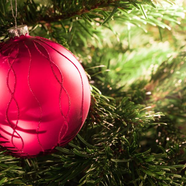 """""""Christmas ball"""" stock image"""