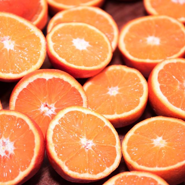 """""""Fresh oranges"""" stock image"""