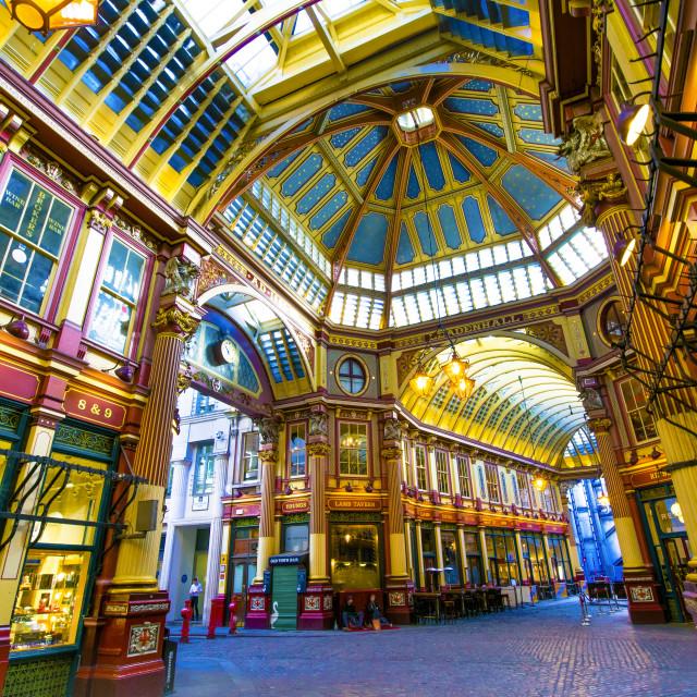 """Leadenhall Market, London"" stock image"