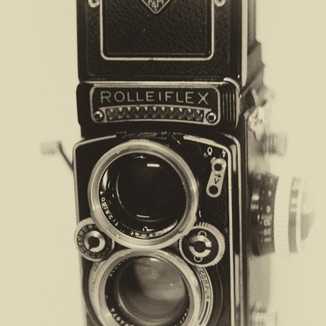 """Rolleiflex"" stock image"