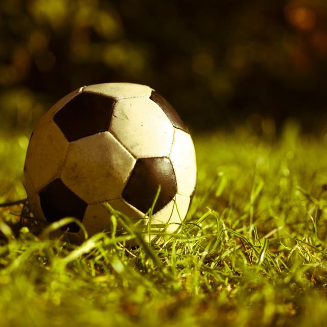 """Football"" stock image"