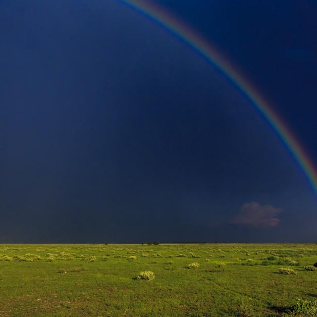 """Rainbow's End"" stock image"