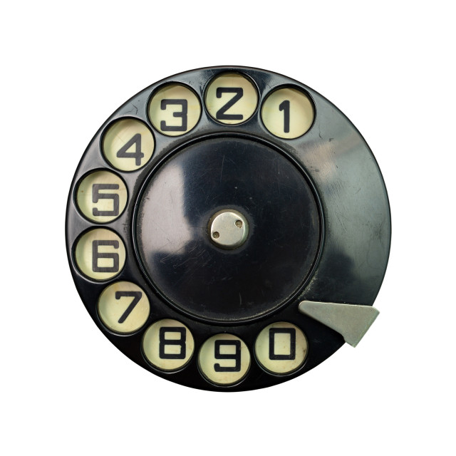 """vintage dial disk"" stock image"