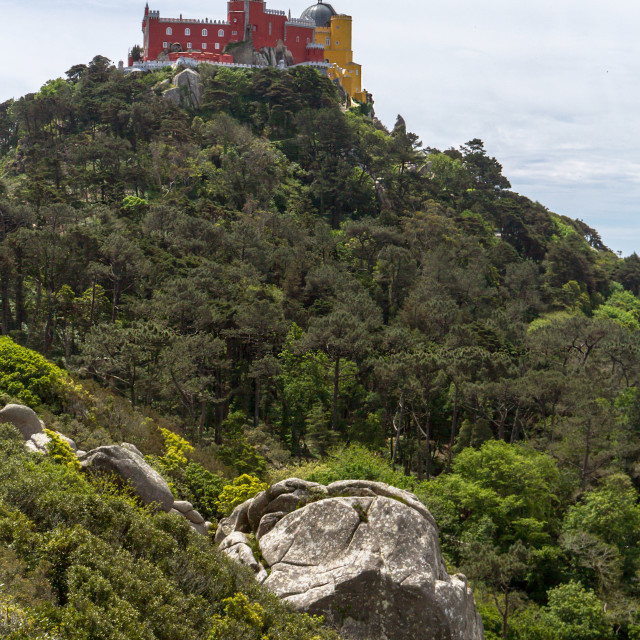 """Pena Palace In Sintra"" stock image"