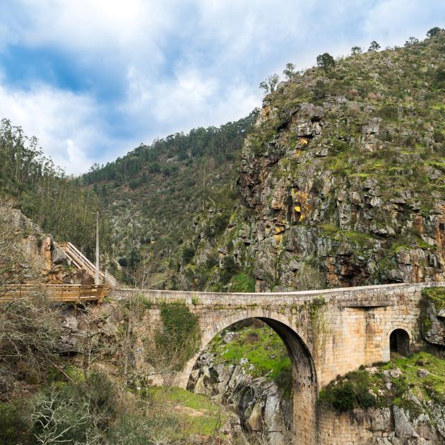 """Alvarenga bridge"" stock image"
