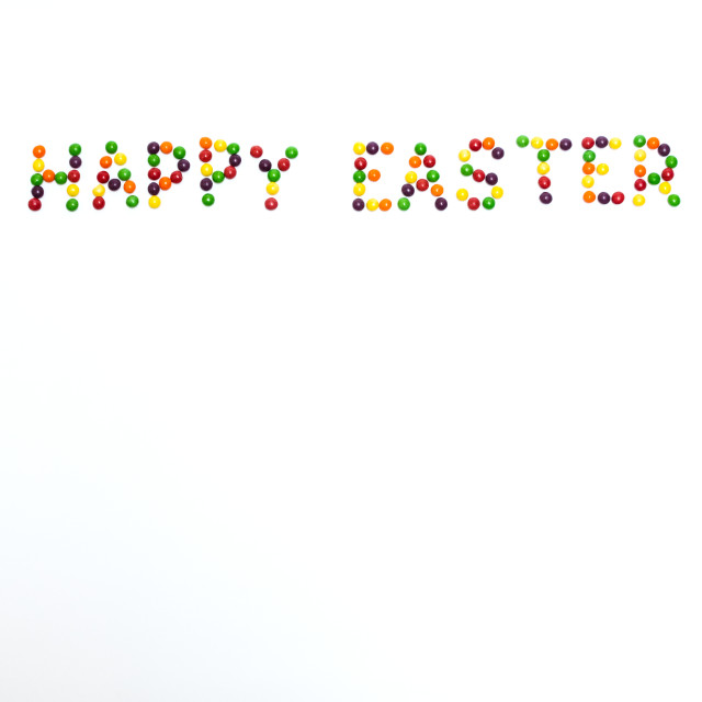 """""""Happy Easter"""" stock image"""