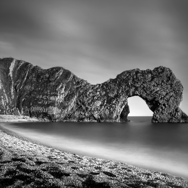 """Durdle Door"" stock image"