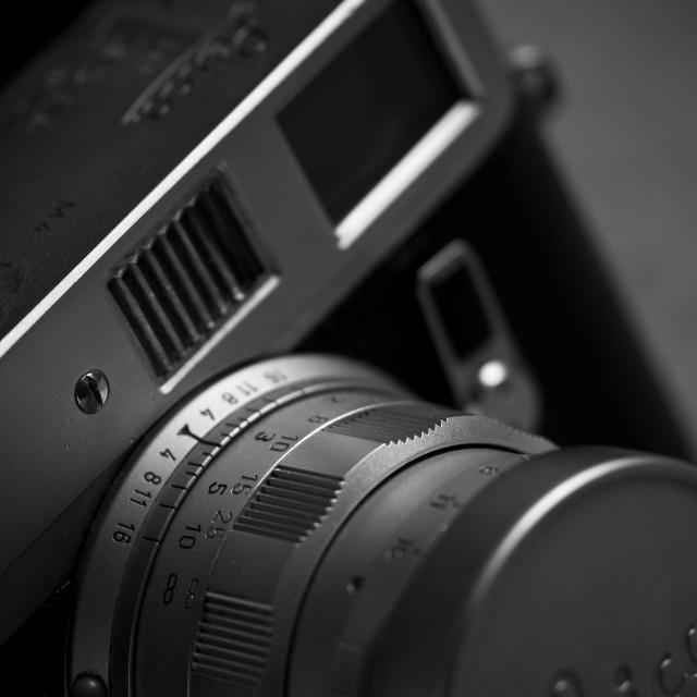 """Classical Leica M4"" stock image"