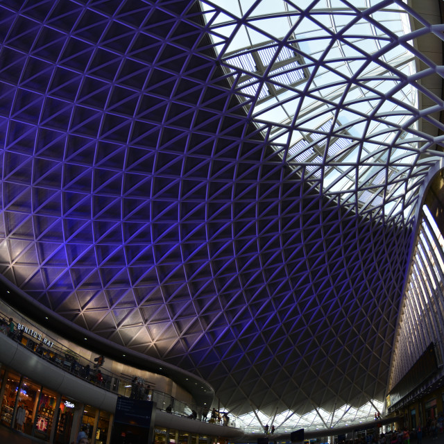 """Kings Cross Station"" stock image"