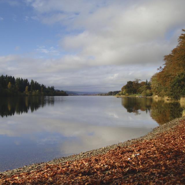 """""""Loch Ken"""" stock image"""