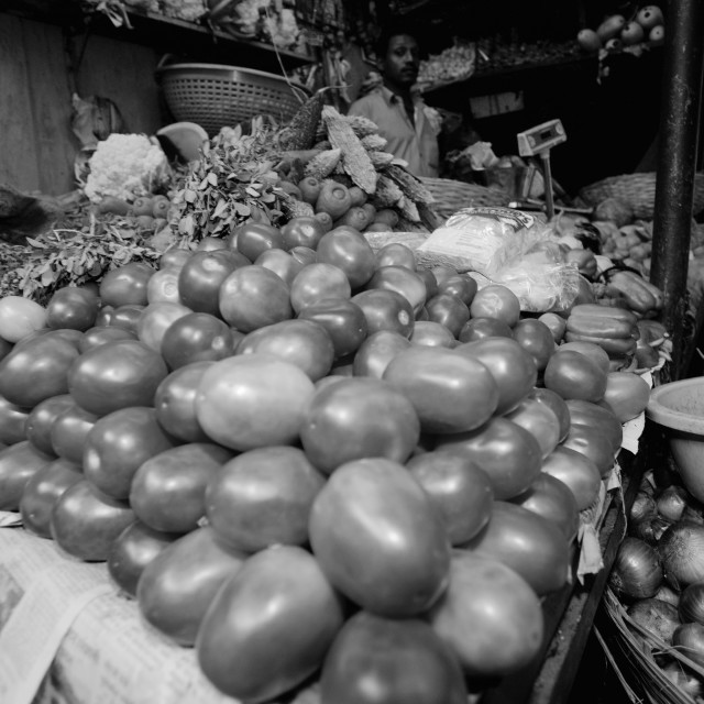 """Fruit and Vegetables Panjim Market"" stock image"