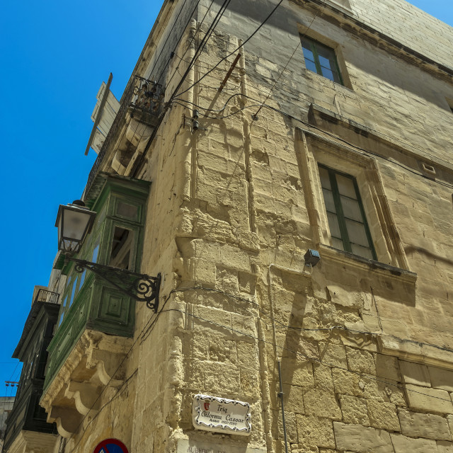 """Vittoriosa architecture"" stock image"