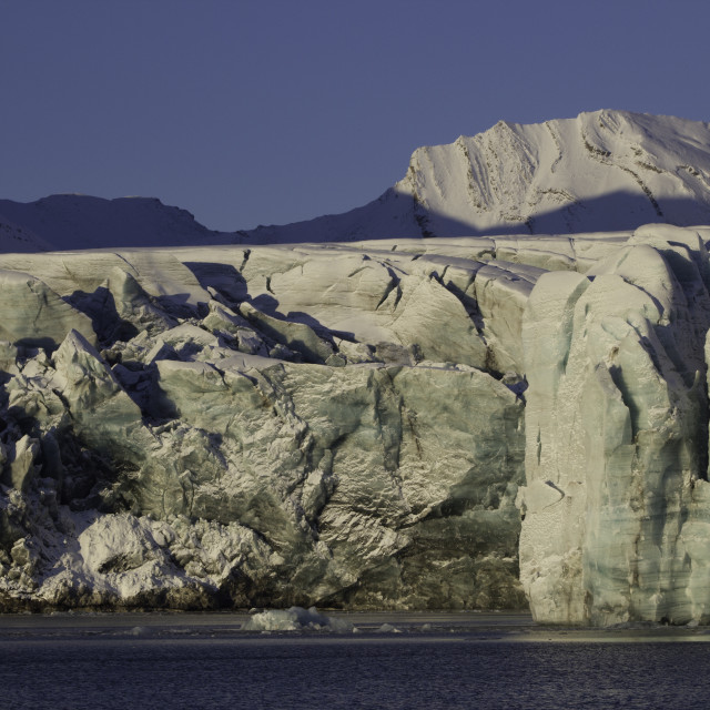 """Glacier Landscape"" stock image"