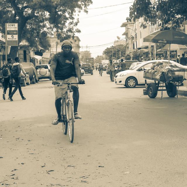 """Banjul"" stock image"