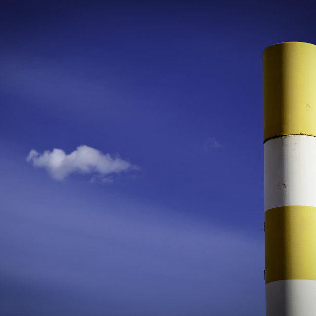 """""""Signpost and Cloud"""" stock image"""