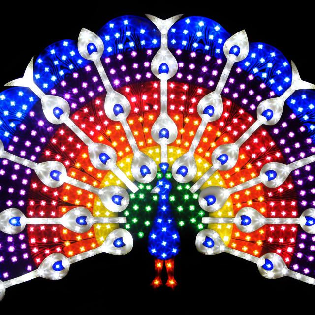 """Blackpool Lights"" stock image"