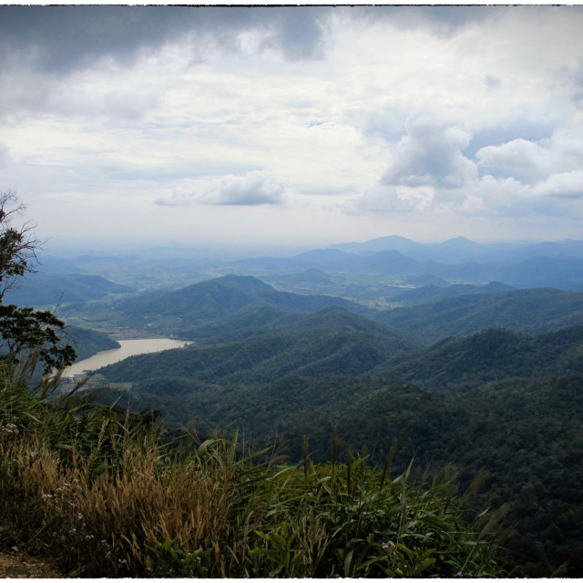 """Dai Ninh Pass, Vietnam"" stock image"