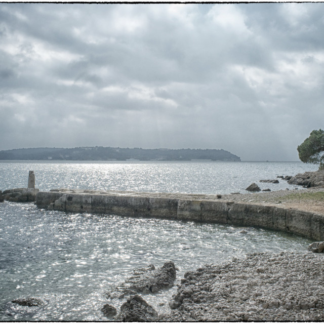 """Pula sea view"" stock image"
