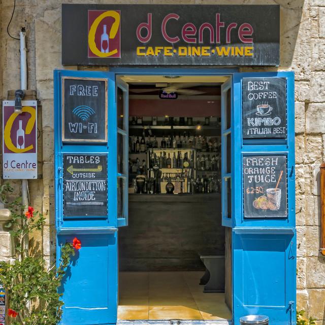 """Charming cafe"" stock image"