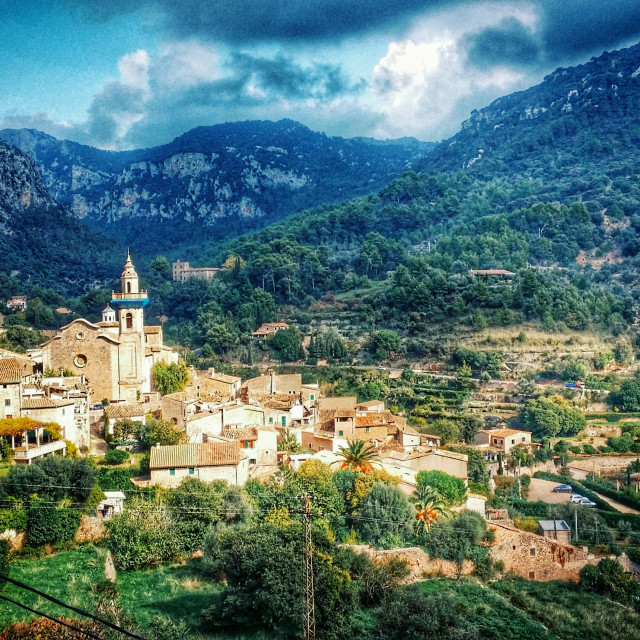 """Valldemossa in Mallorca"" stock image"