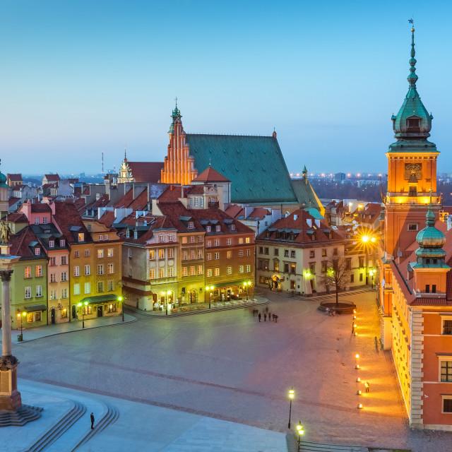 """Warsaw Royal Castle Poland"" stock image"
